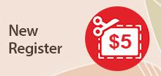 $5 New Register