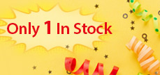 Only 1 In Stock