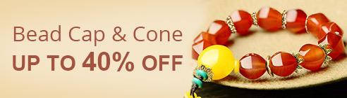 Bead Cap & Cone Up To 40% OFF