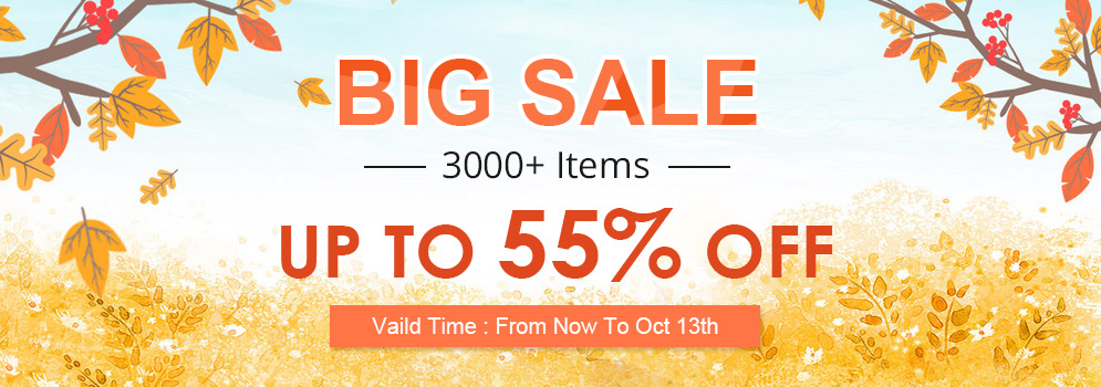 Big Sale 3000+ Items Up To 55% OFF