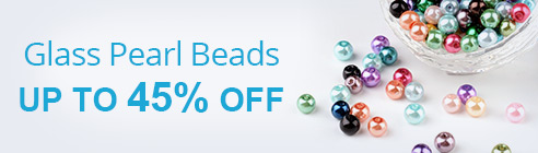 Glass Pearl Beads Up To 45% OFF