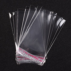 Cellophane Bags, Clear, 11x6cm; Unilateral Thickness: 0.04mm; Inner Measure: 9x6cm