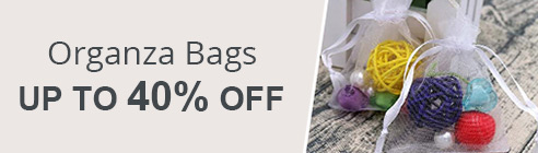 Organza Bags Up To 30% OFF