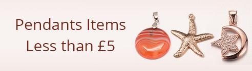 Pendants Items Less than £5