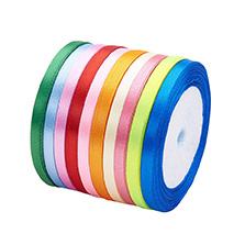 Satin Ribbon, Mixed Color
