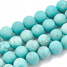 Natural Green Turquoise Beads Strands