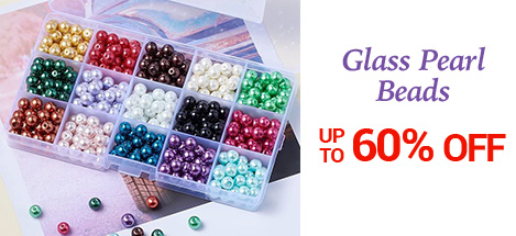 Glass Pearl Beads UP TO 60% OFF